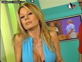 Gisela Barreto hot cleavage damageinc-videos